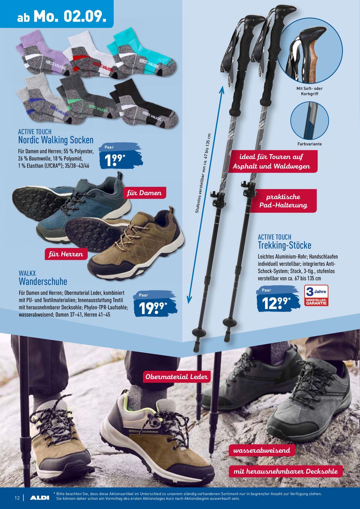 Damen Sneaker Angebote von Aldi Nord!