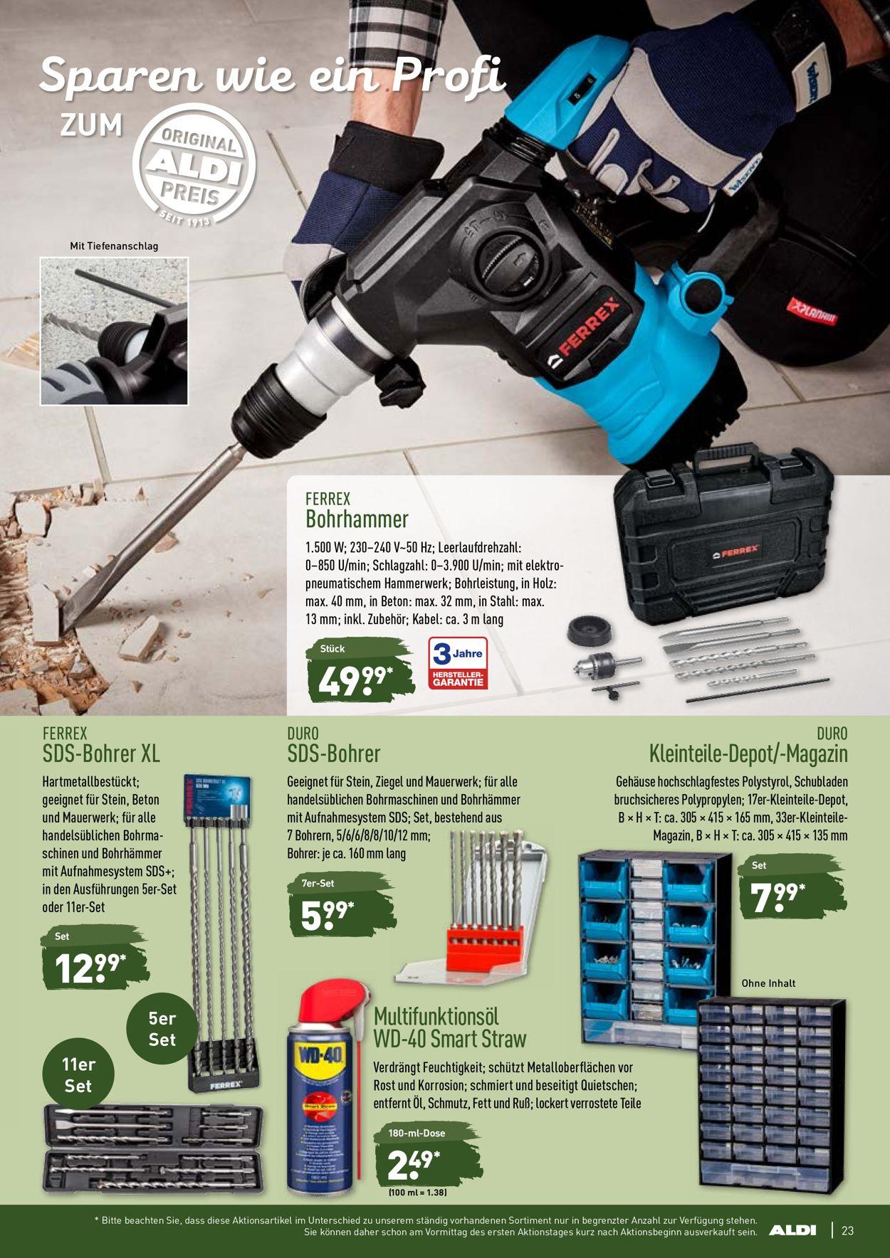 ferrex bohrhammer kaufen