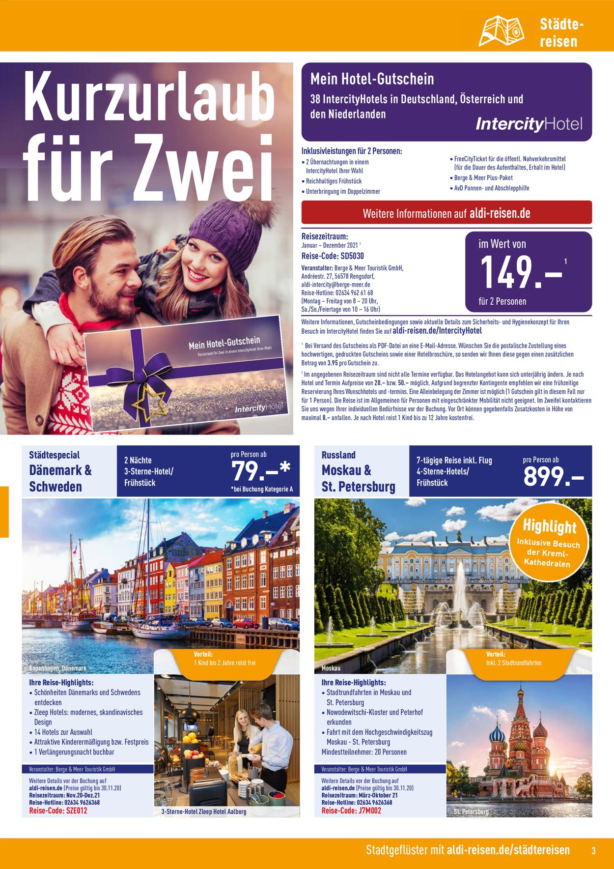 Aldi-Reisen.De Intercity Hotel 2021