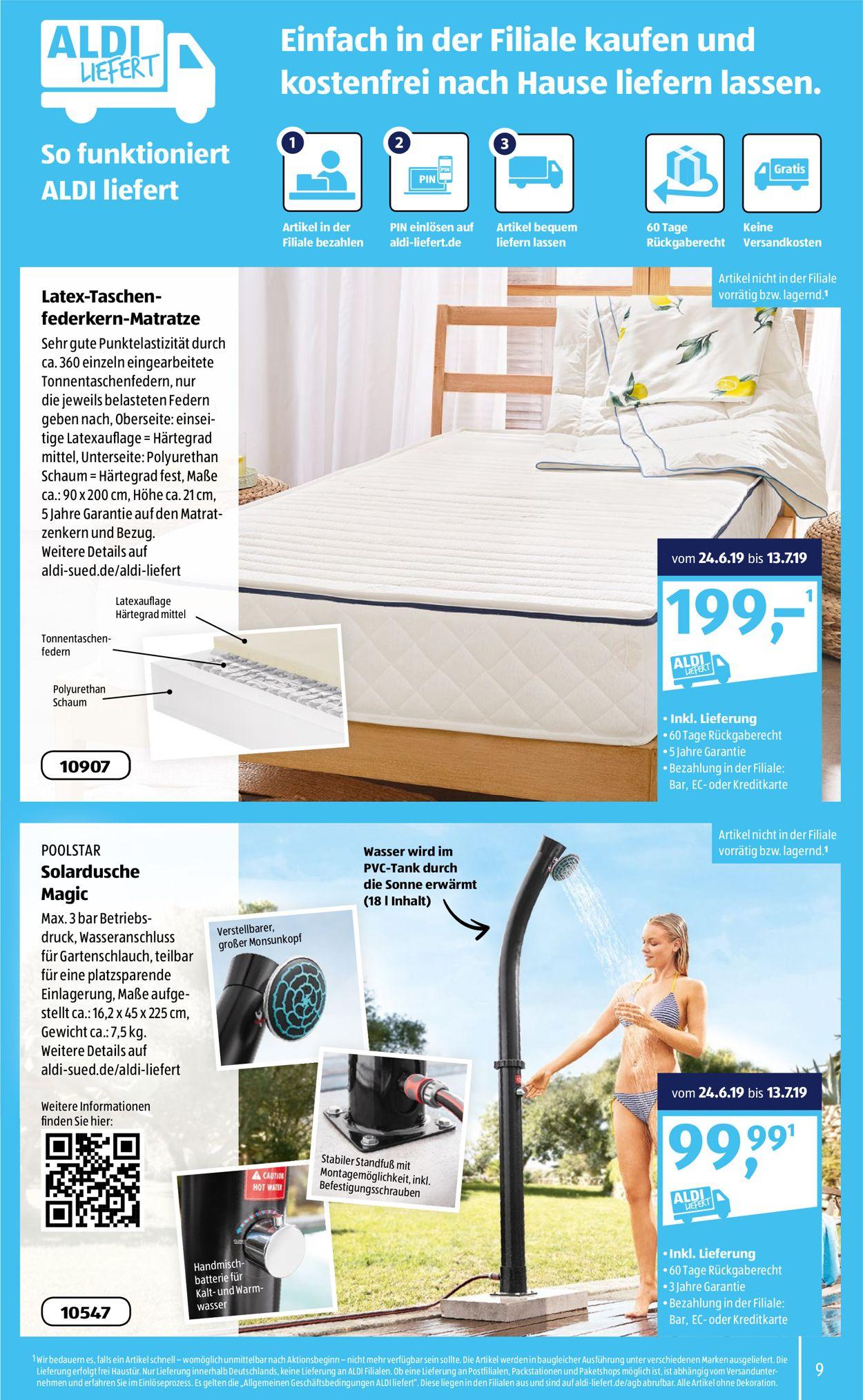 Aldi Solardusche 2021