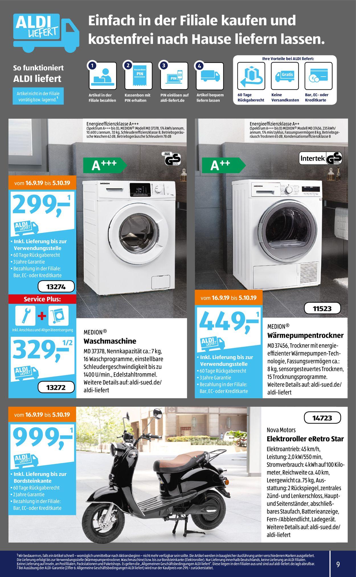 Aldi waschmaschine