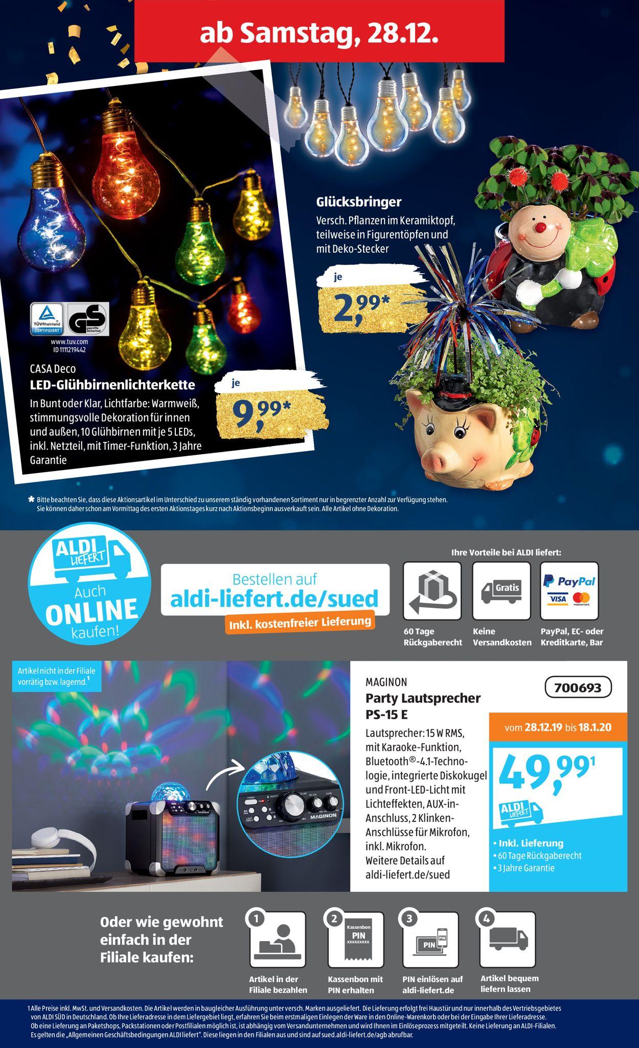 Aldi Online Bestellen Sud Aldi Nord 2020 10 10