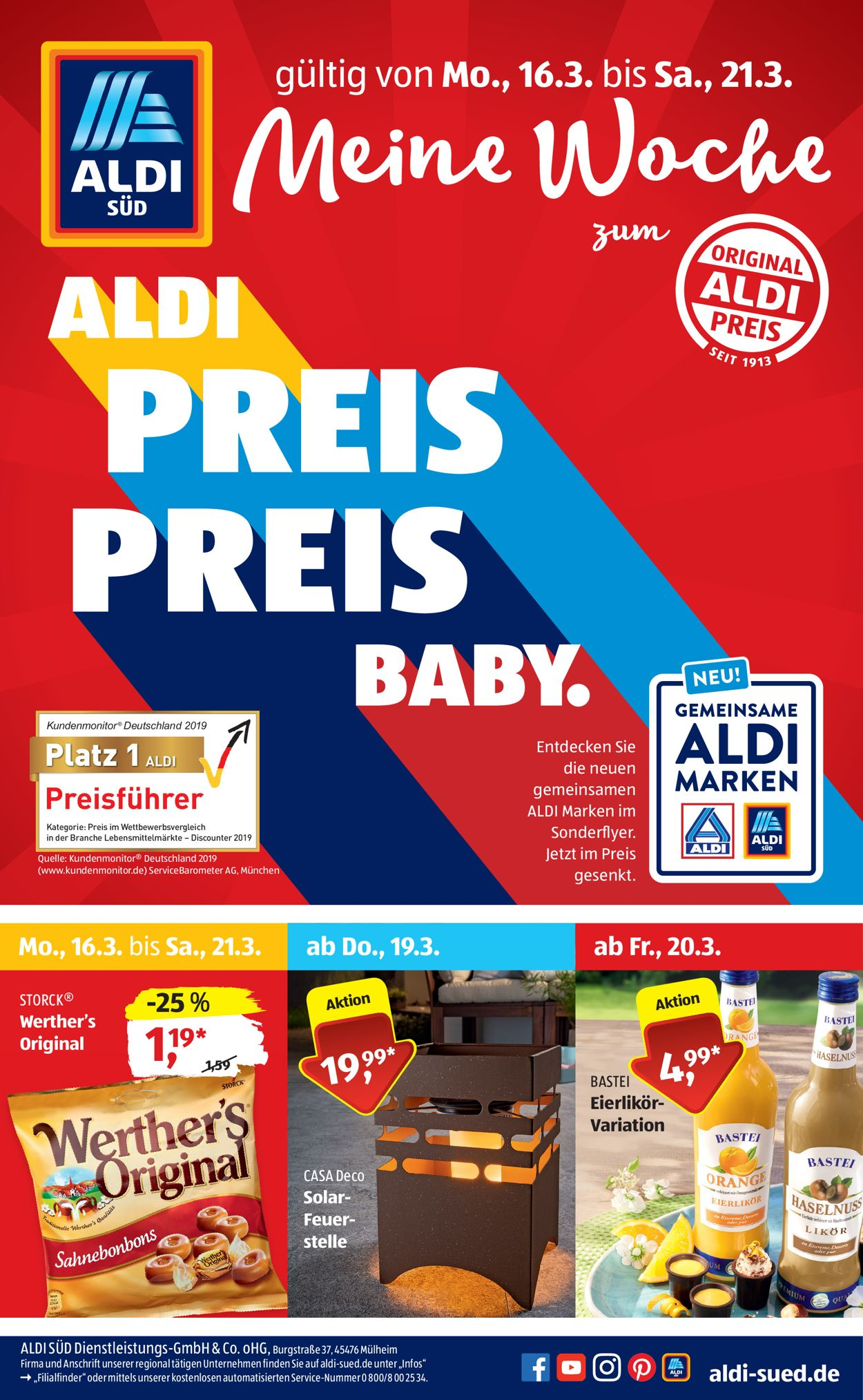 Aldi Prospekt Neu
