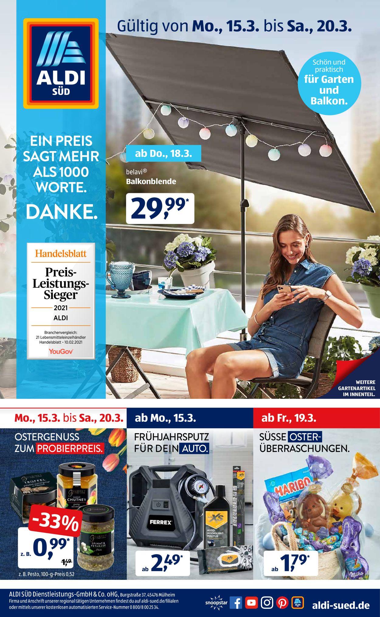 Aldi Süd Angebote Küchenmaschine 2021
