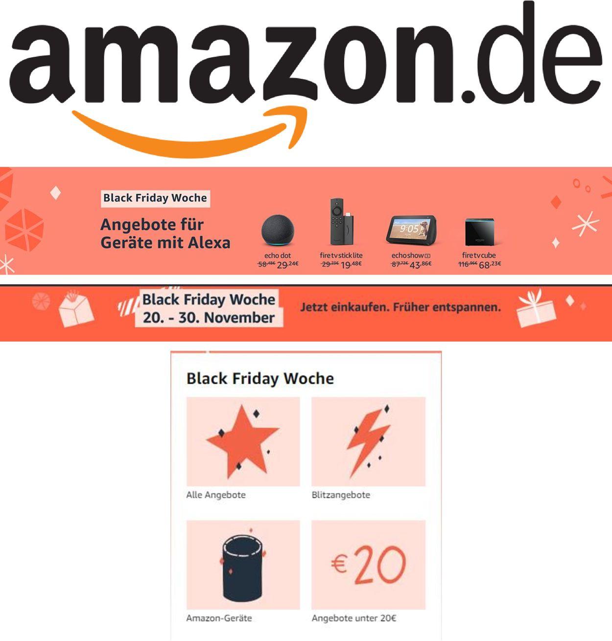 Prospekt Amazon Black Friday 2020 vom 24.11.2020