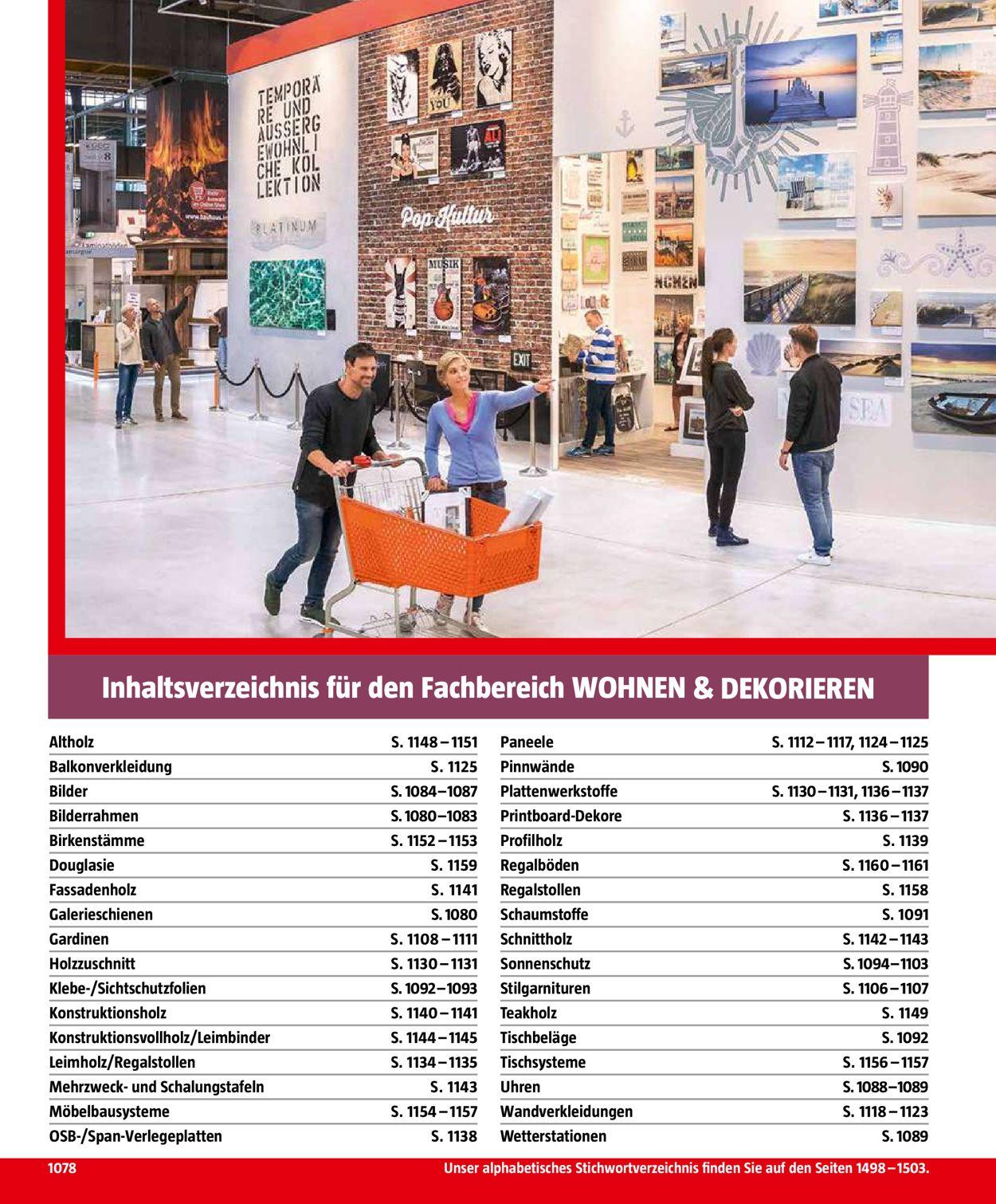 Bauhaus Aktueller Prospekt 04 10 31 01 2020 1078 Jedewoche