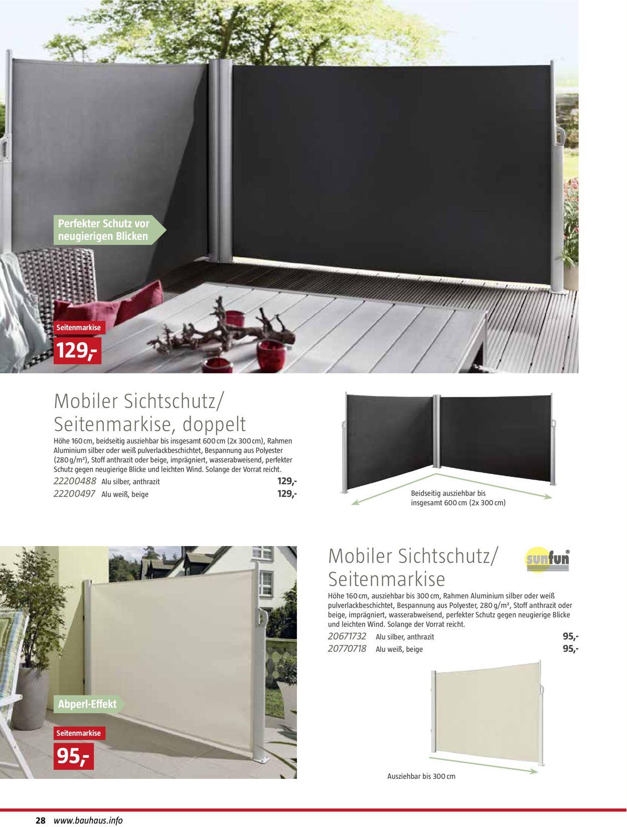 Bauhaus Aktueller Prospekt 01 01 01 09 2020 28 Jedewoche
