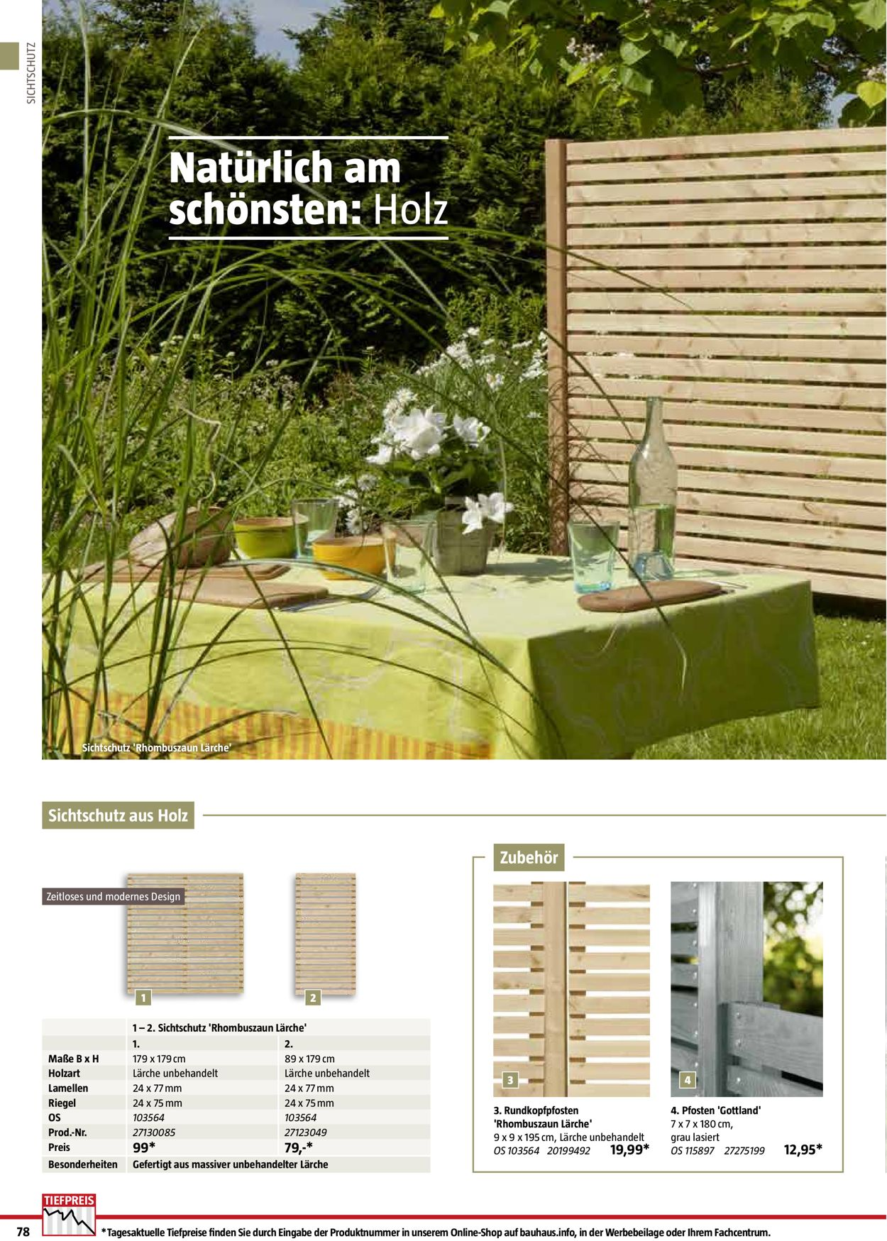 Bauhaus Aktueller Prospekt 01 01 01 09 2020 78 Jedewoche