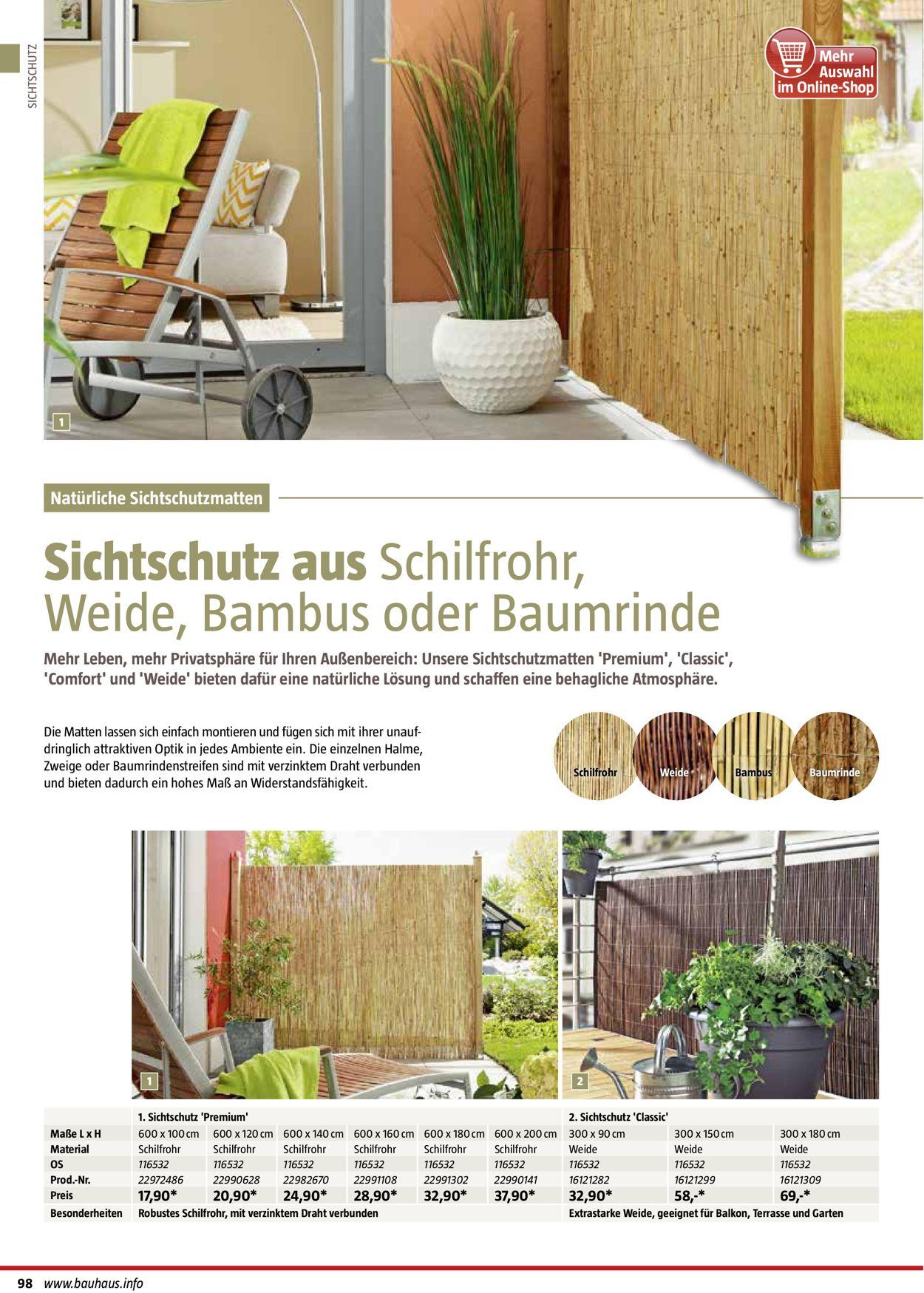 Bauhaus Aktueller Prospekt 01 01 01 09 2020 98 Jedewoche Rabatte De