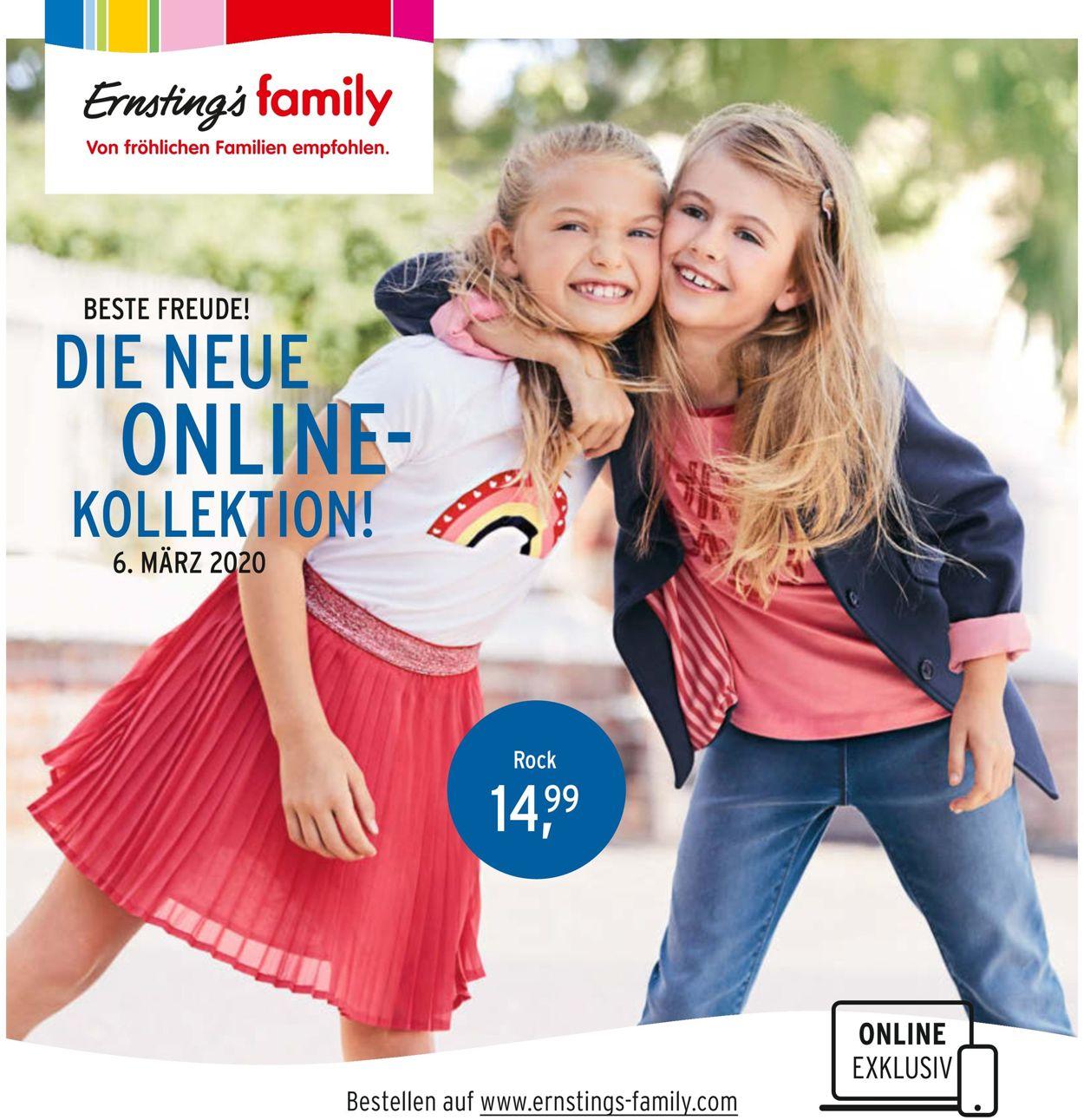 Ernstings Family Aktueller Prospekt 06 03 16 03 2020 Jedewoche Rabatte De