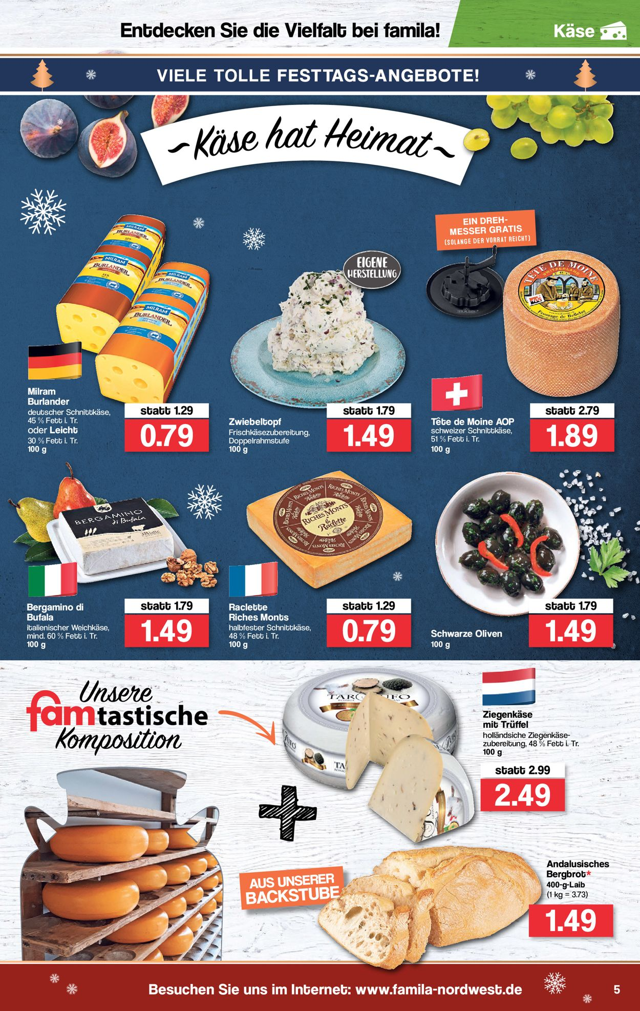 Famila Weihnachtsprospekt 2019 Aktueller Prospekt 23 12 31 12 2019 5 Jedewoche Rabatte De