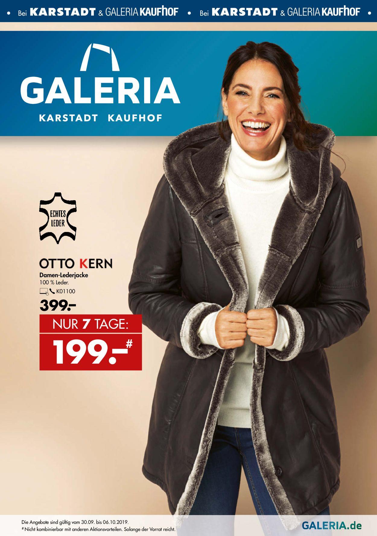 Super Specials am besten geliebt Beste GALERIA Kaufhof Aktueller Prospekt 30.09 - 09.10.2019 ...