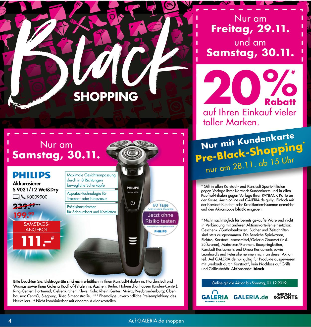 Black Friday in Mainz |