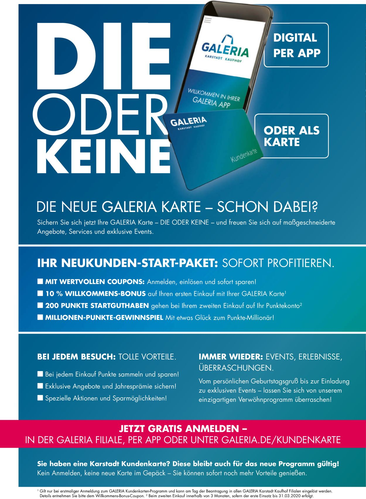 GALERIA Kaufhof Aktueller Prospekt 19.02 25.02.2020 [38