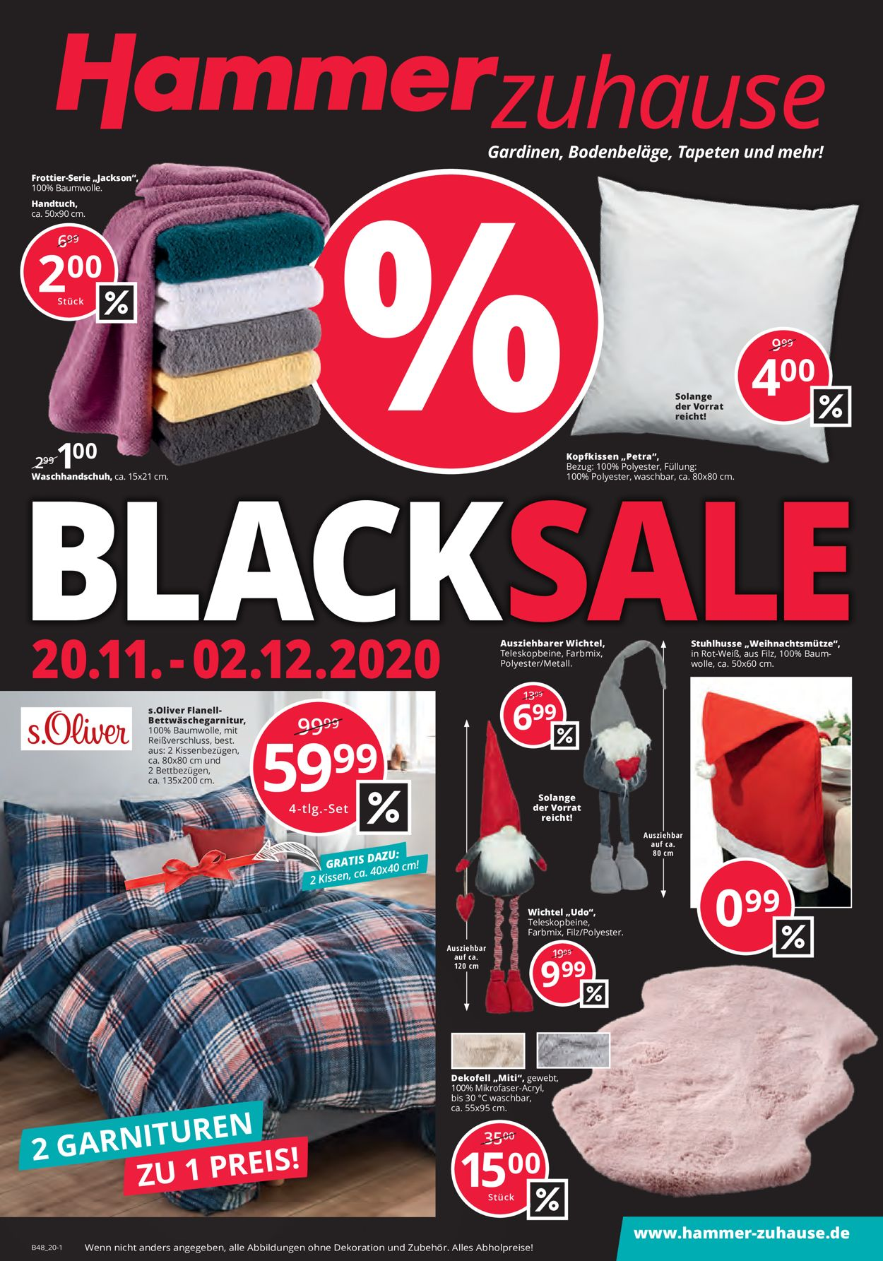 Prospekt Hammer - Black Friday 2020 vom 20.11.2020