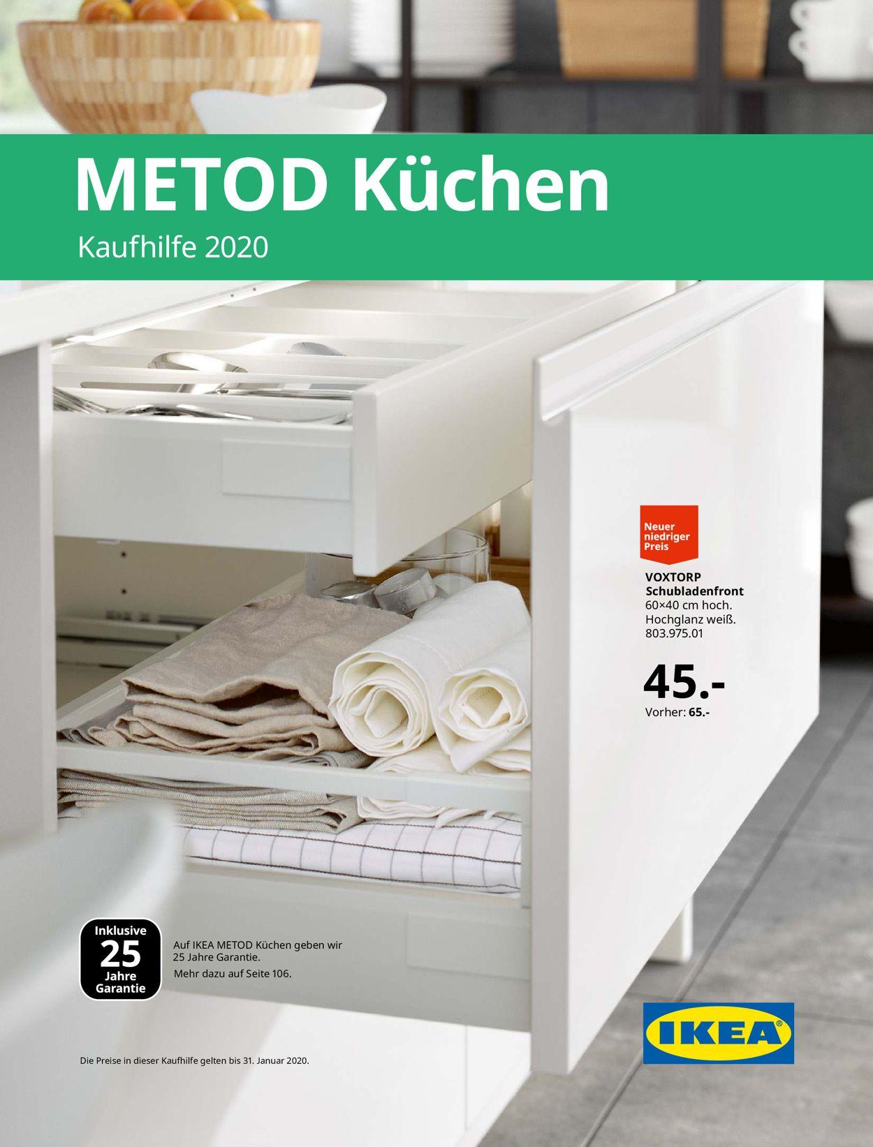 IKEA Aktueller Prospekt 05.08 - 31.01.2020 - jedewoche ...