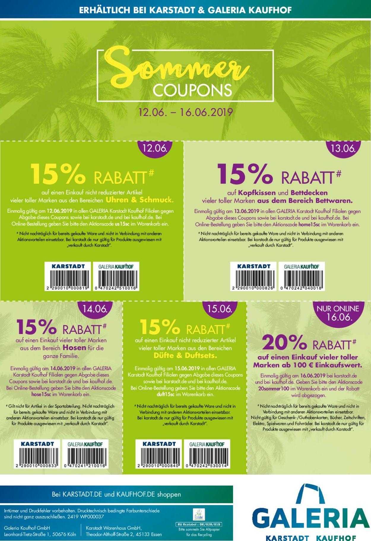 karstadt online coupon
