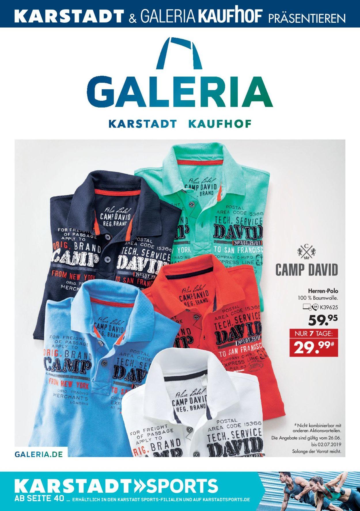 fashion styles hot products promo code Karstadt Aktueller Prospekt 26.06 - 02.07.2019 - jedewoche ...
