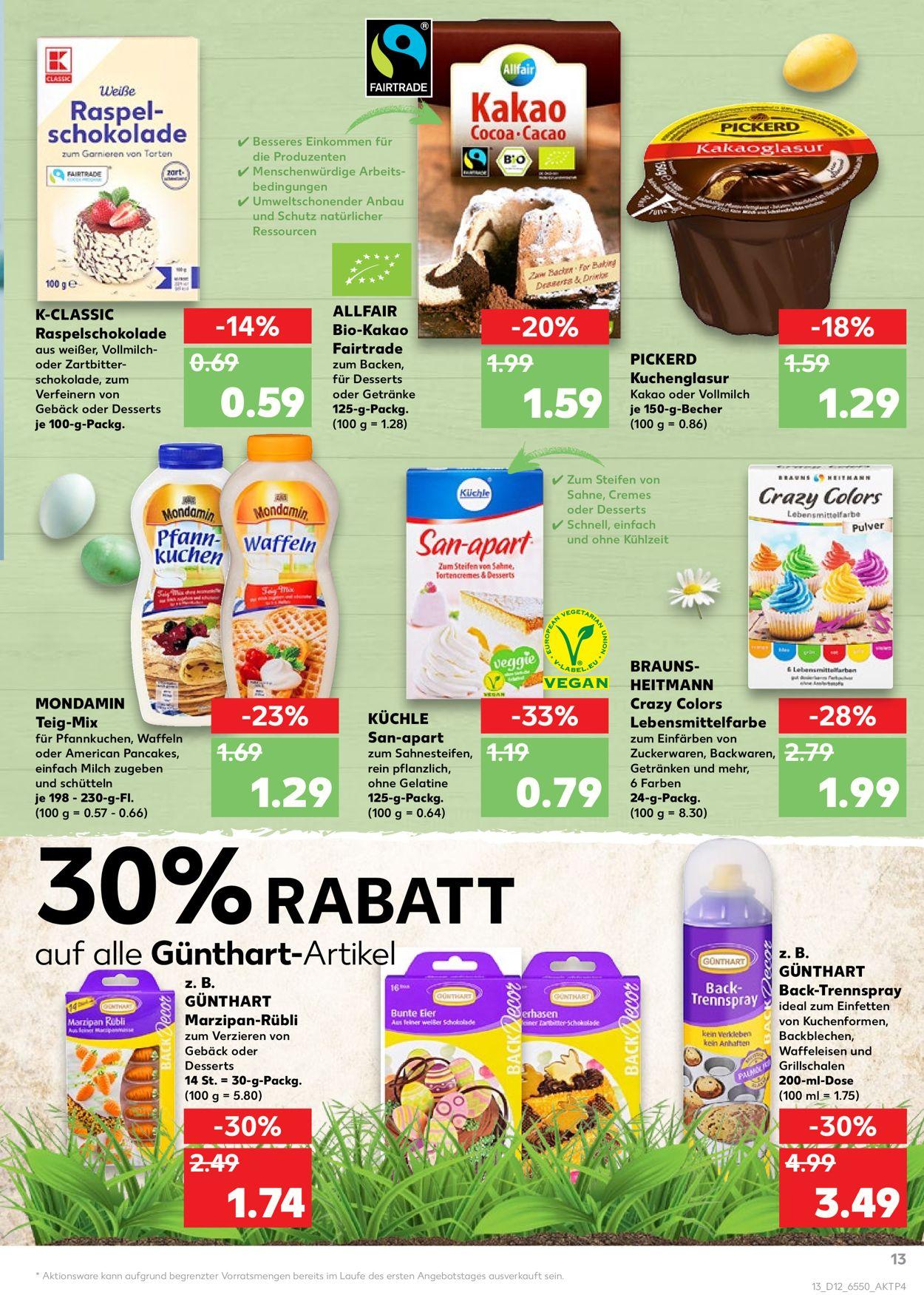 Kaufland Lebensmittelfarbe