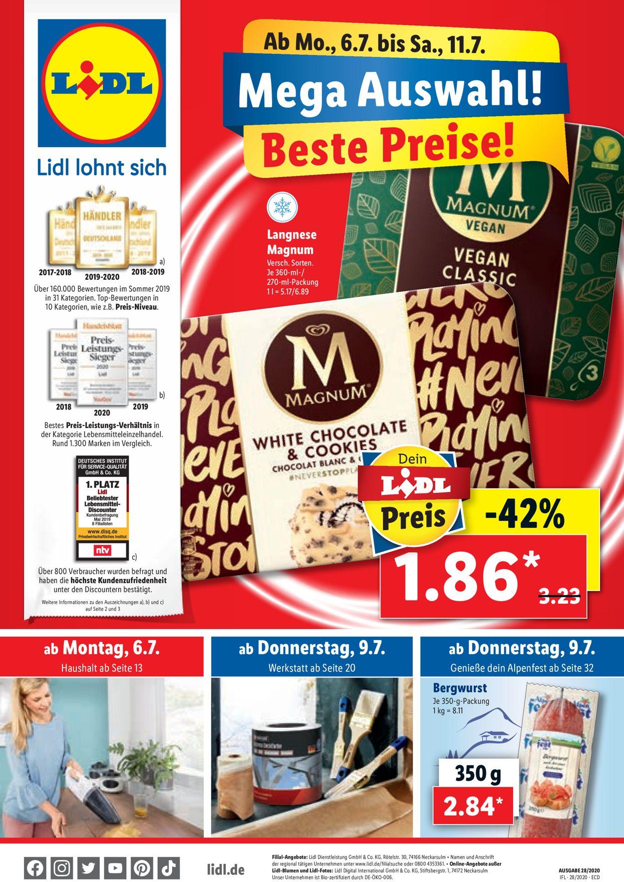 Lidl Produkte Preise
