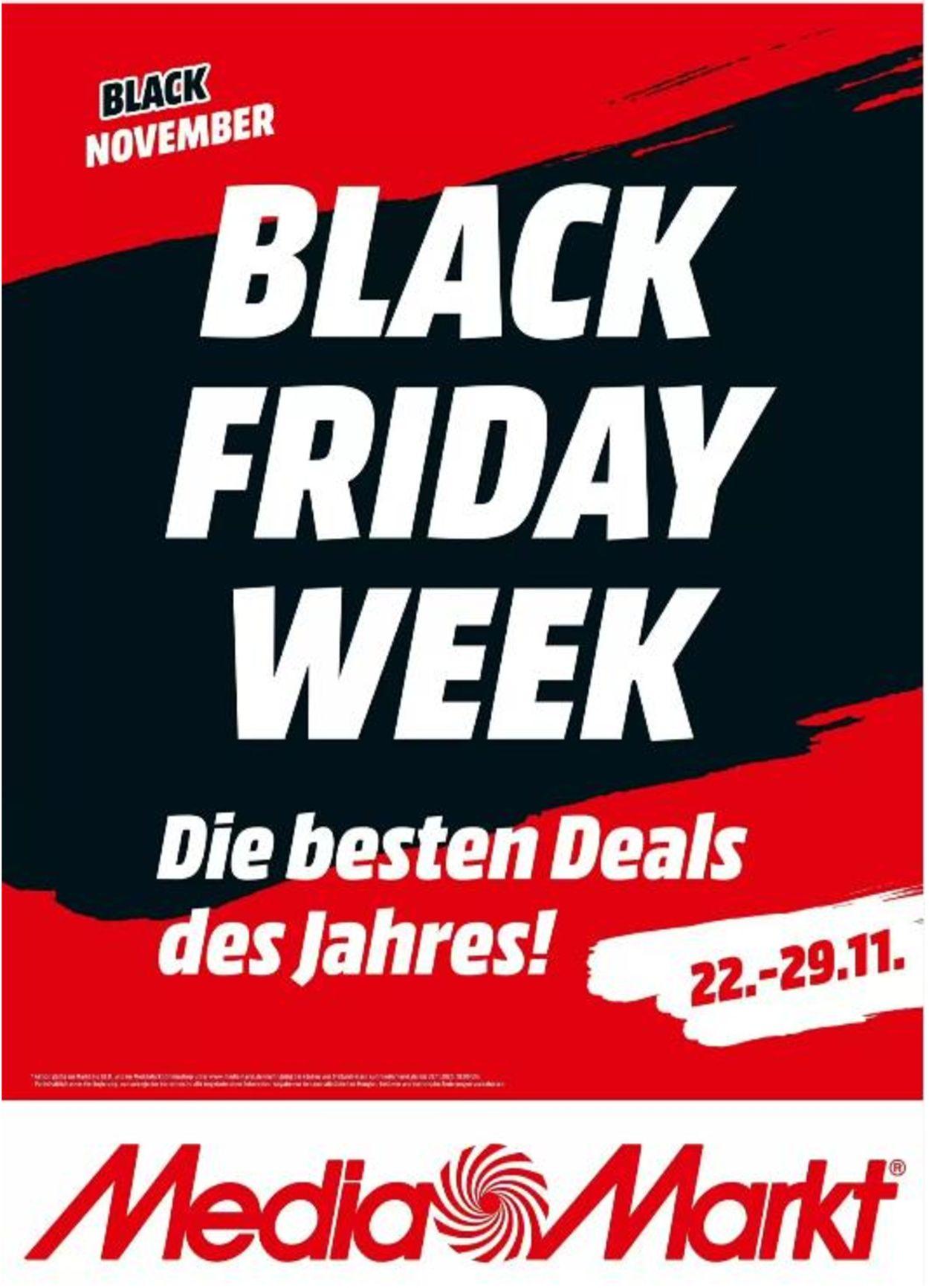 Prospekt Media Markt Black Friday 2020 vom 22.11.2020