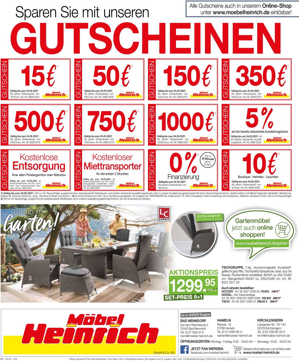 Möbel Heinrich Aktueller Prospekt 50.50   50.50.50 [50 ...