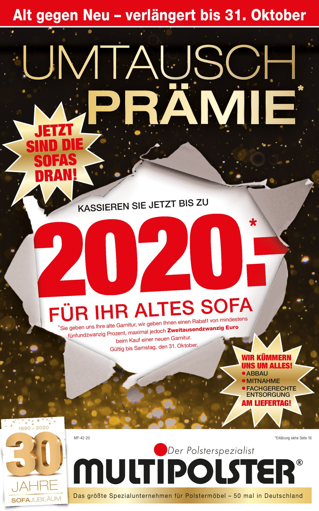 Prospekt Multipolster vom 12.10.2020