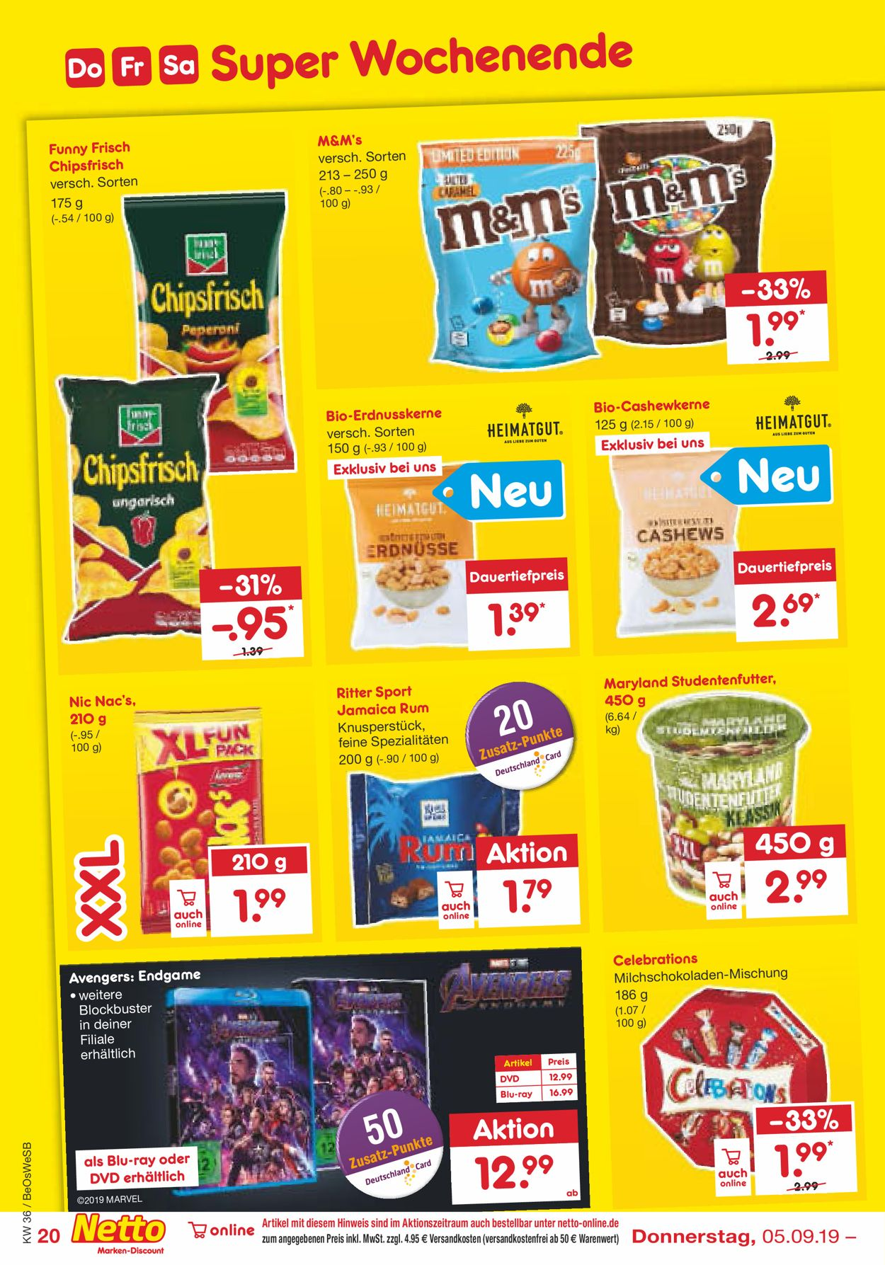 Netto Marken Discount Aktueller Prospekt 02.09 07.09.2019