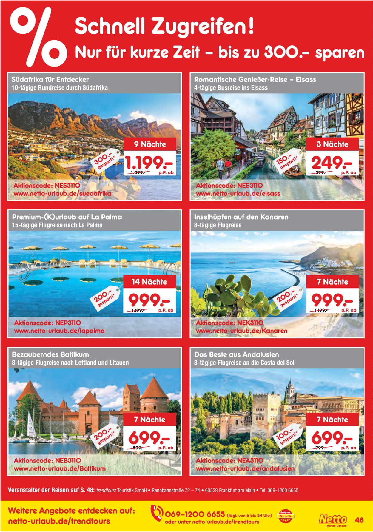 Trendtours andalusien 2019
