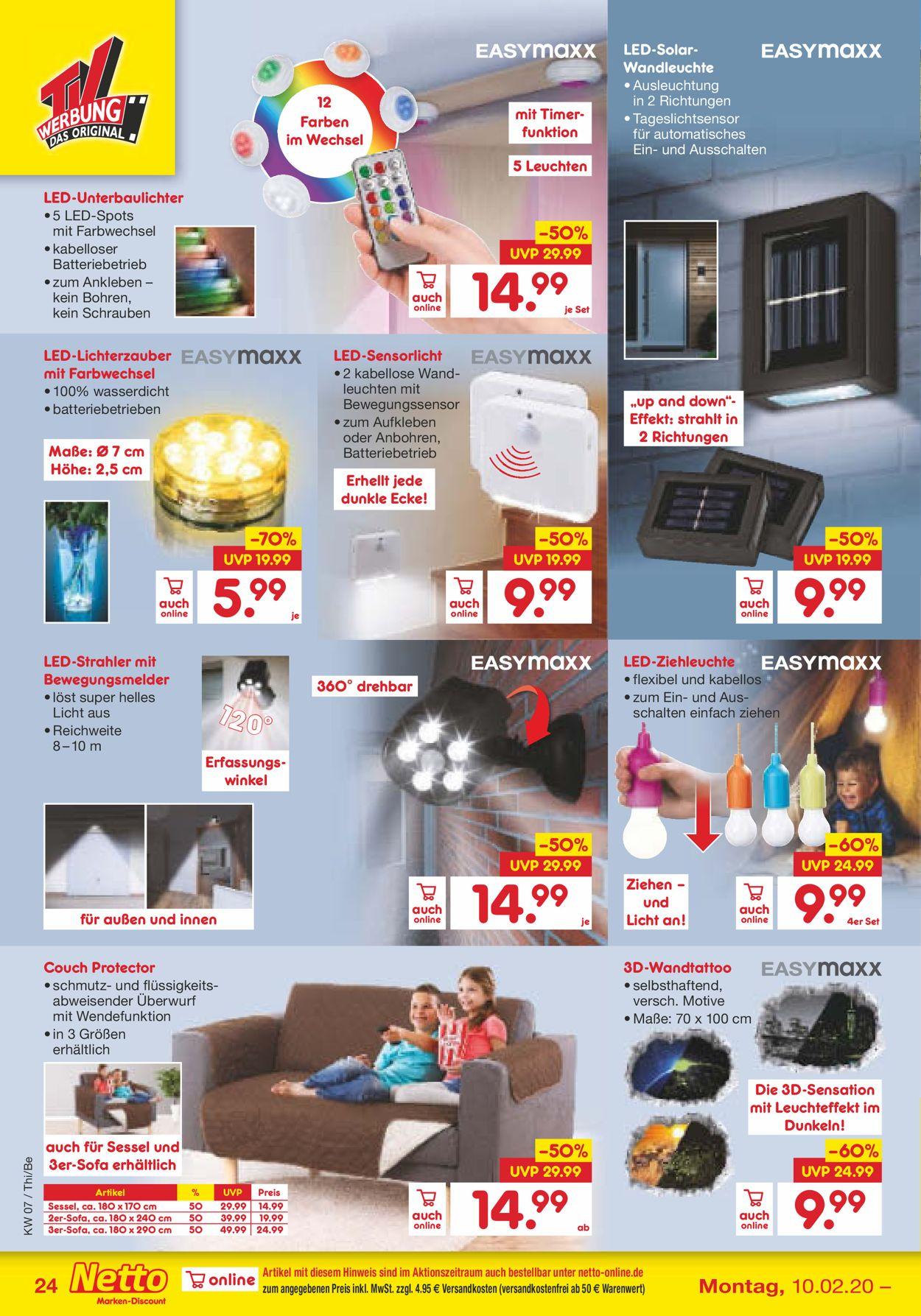 Netto Marken Discount Aktueller Prospekt 10 02 15 02 2020 24 Jedewoche Rabatte De