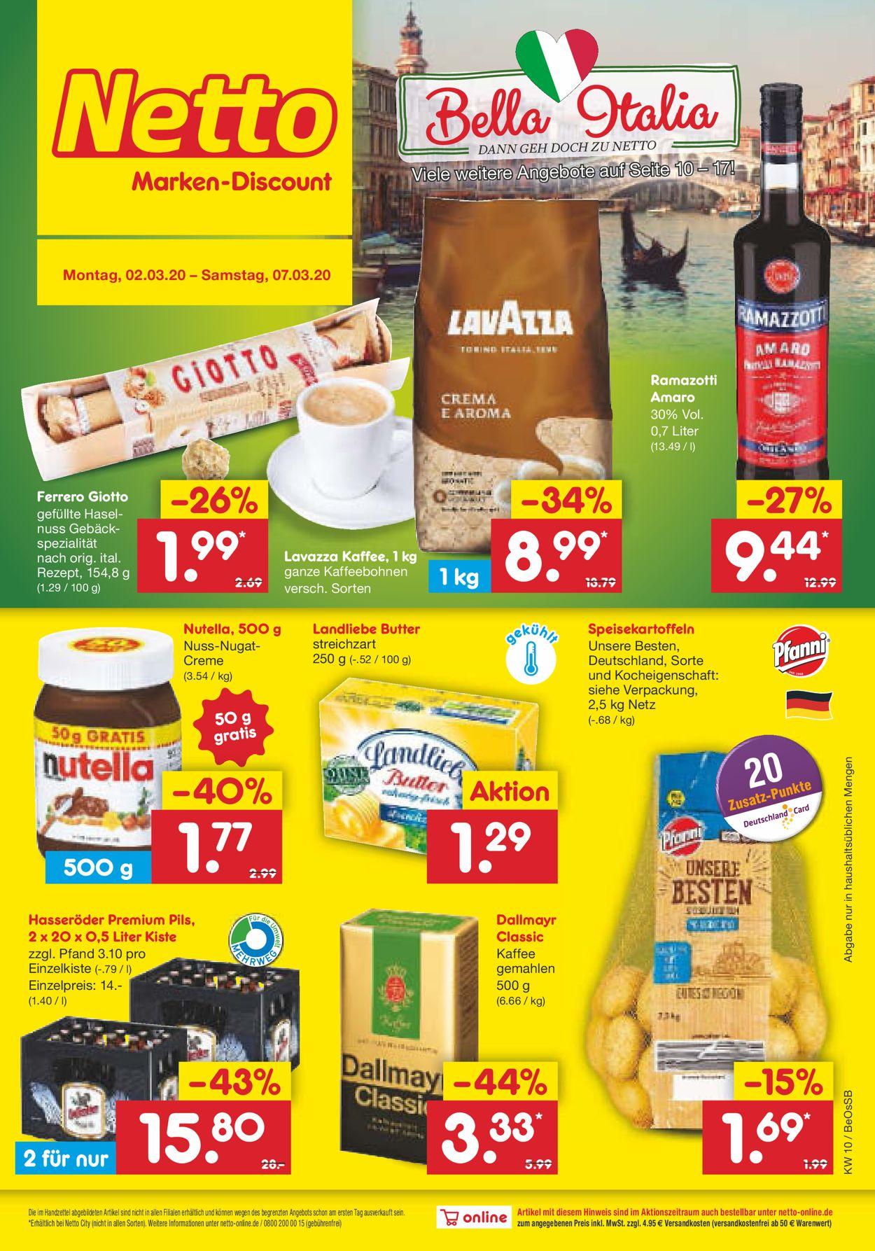 Netto Marken Discount Aktueller Prospekt 20.20   20.20.2200 ...