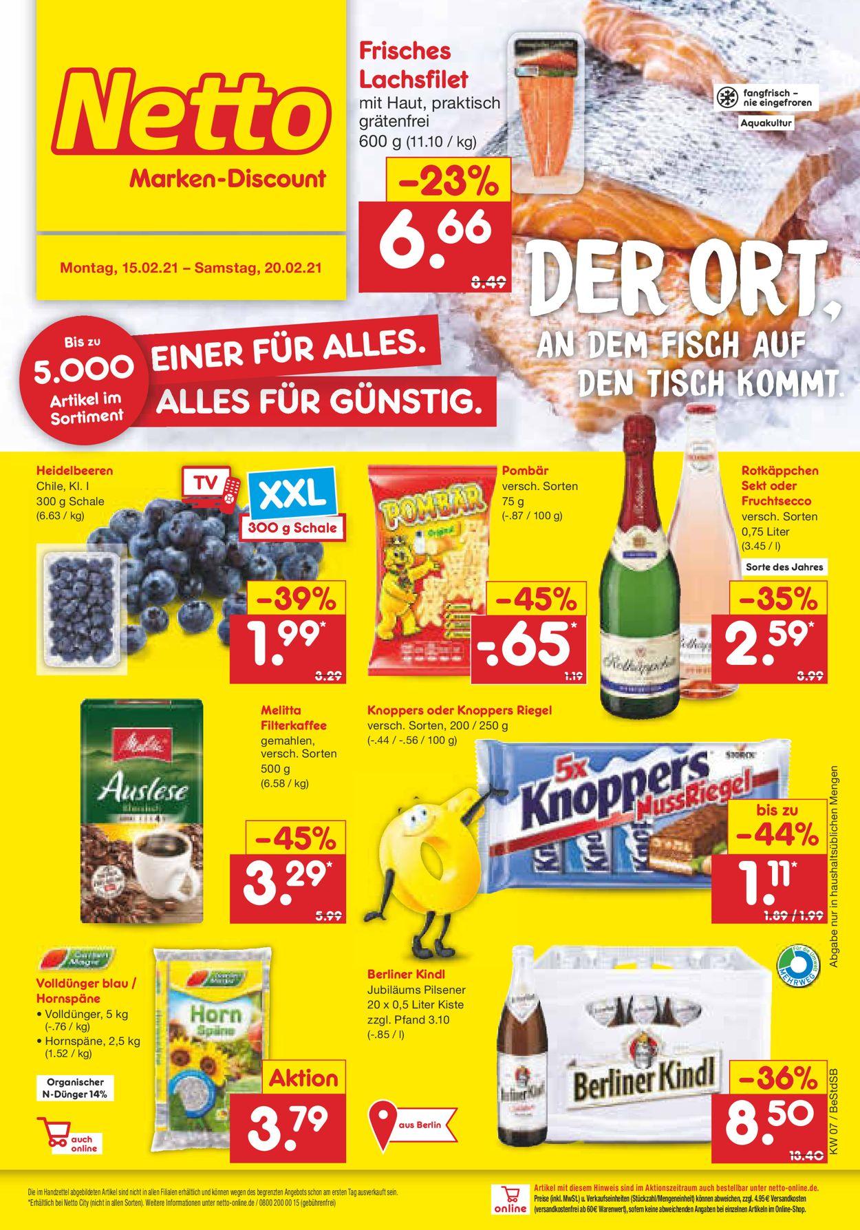 Netto Marken Discount Aktueller Prospekt 20.20   20.20.2201 ...