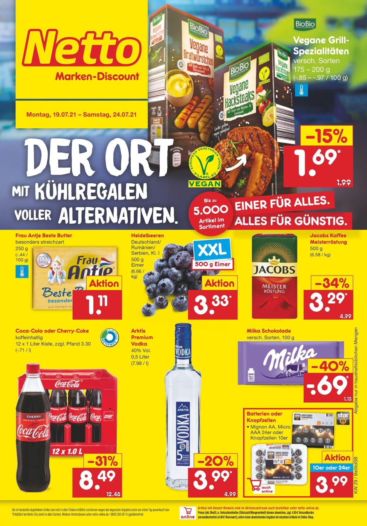 Prospekt Netto Marken-Discount vom 19.07.2021