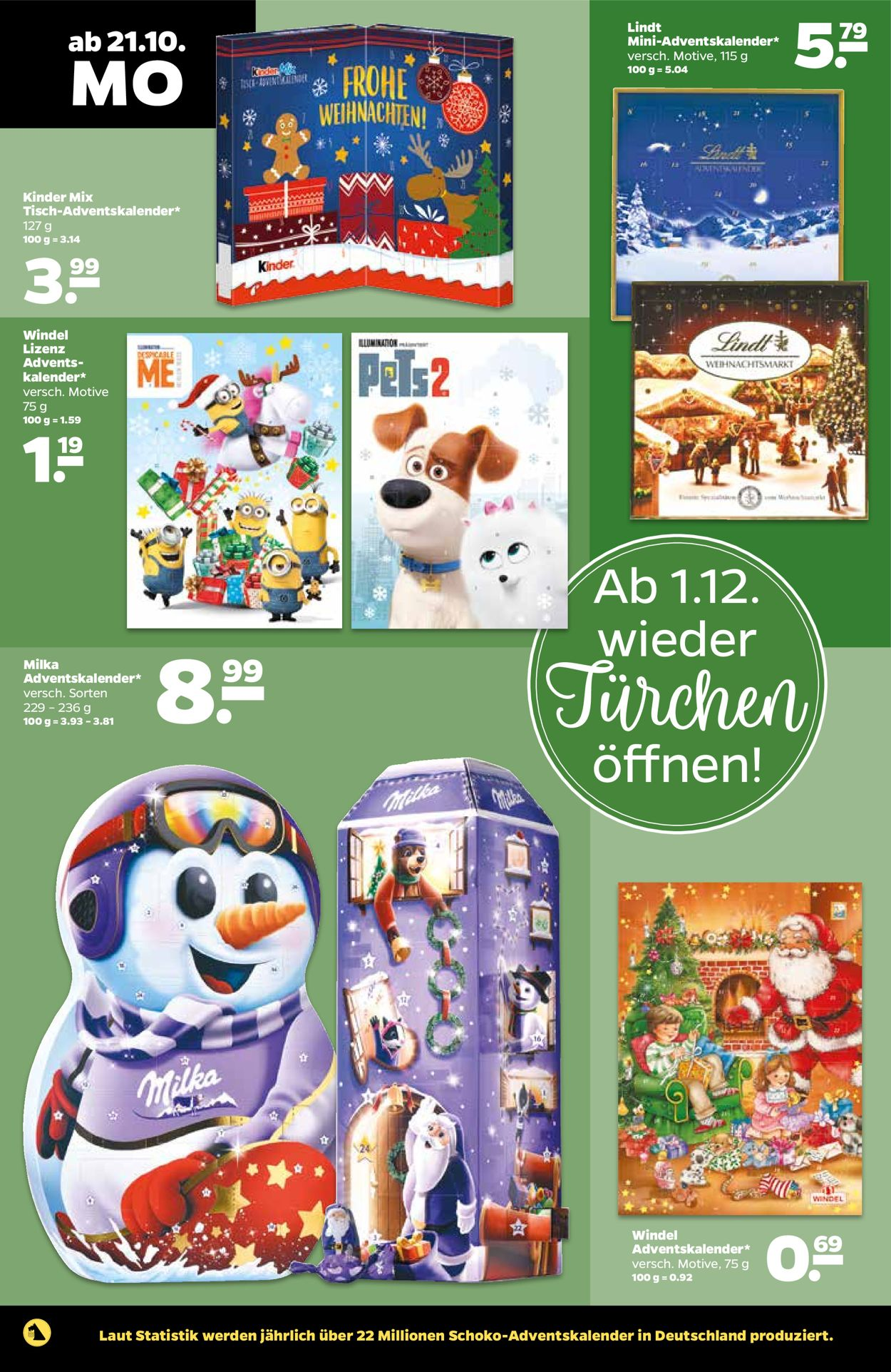 Adventskalender Netto