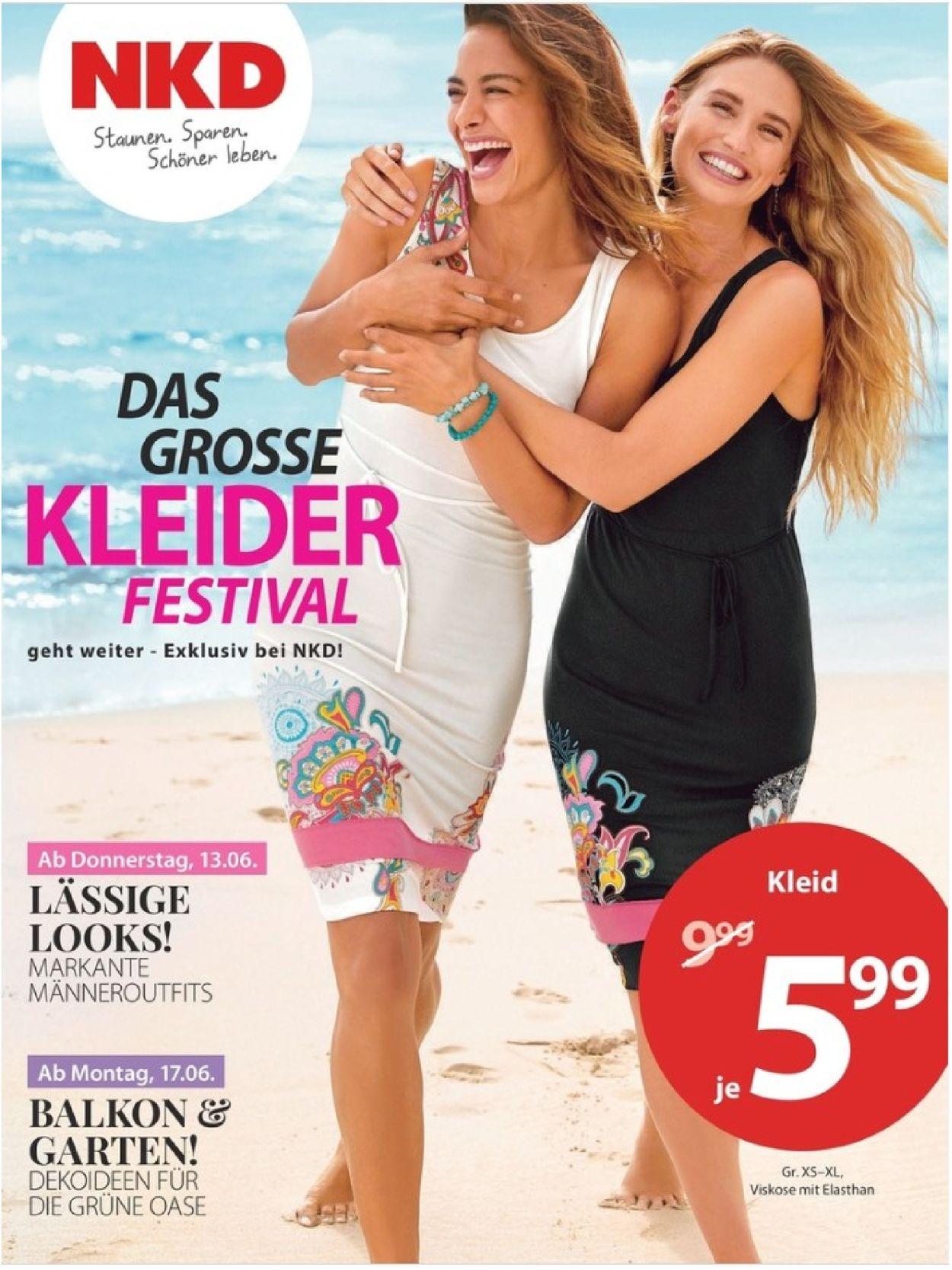 Großhändler der Verkauf von Schuhen Luxus NKD Aktueller Prospekt 13.06 - 23.06.2019 - jedewoche-rabatte.de