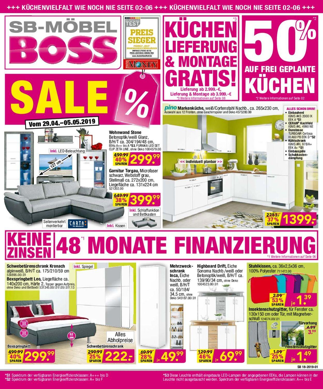 sb m bel boss aktueller prospekt jedewoche. Black Bedroom Furniture Sets. Home Design Ideas