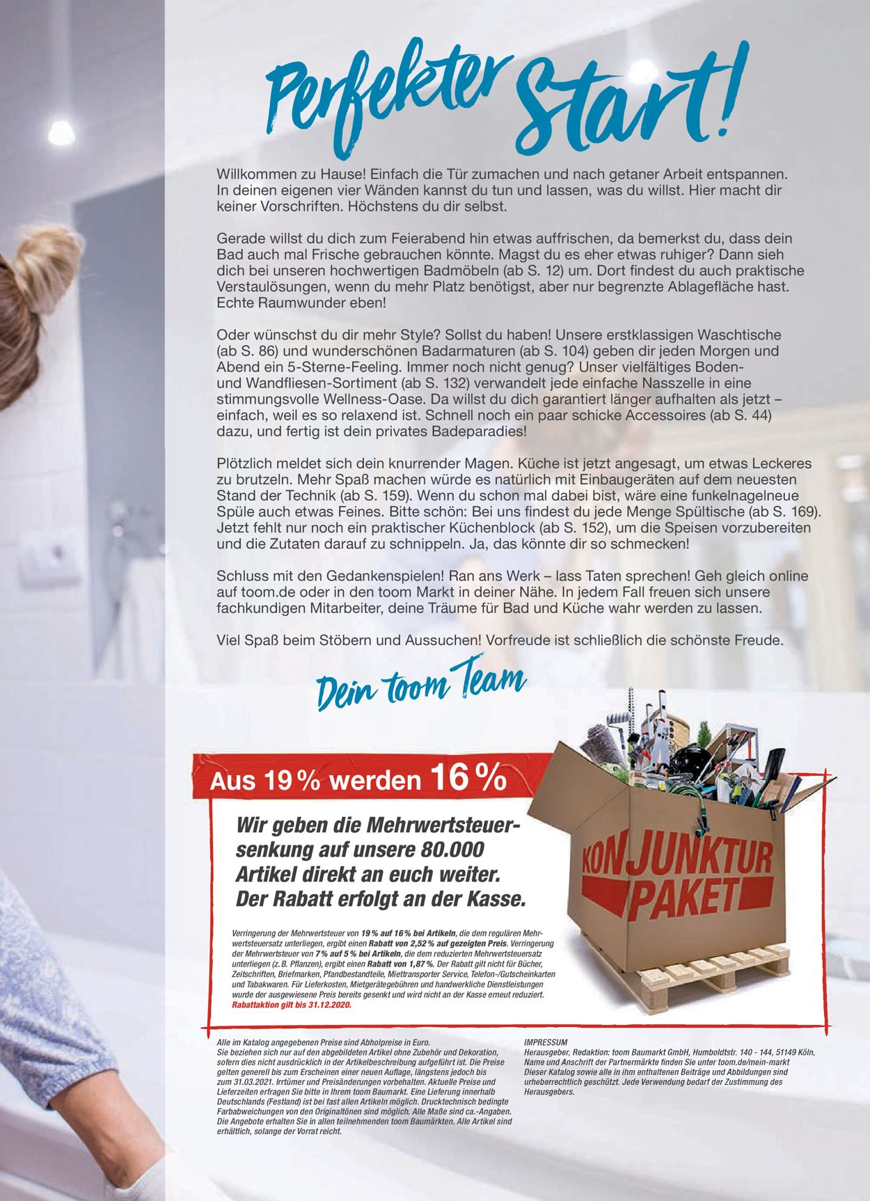 Prospekt toom Baumarkt vom 01.09.2020