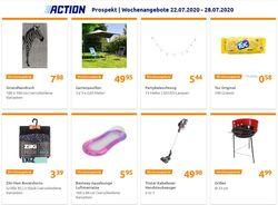 Prospekt Action vom 22.07.2020