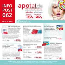Prospekt Apotal vom 26.07.2020