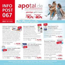 Aktueller Prospekt Apotal