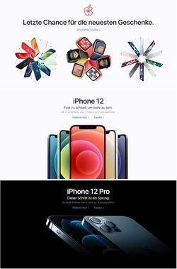 Prospekt Apple Weihnachtsprospekt 2020 vom 24.12.2020