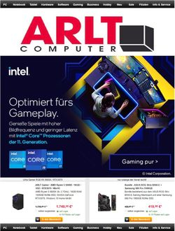 Aktueller Prospekt ARLT Computer