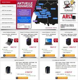 Prospekt ARLT Computer vom 06.05.2021