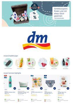Prospekt Dm-drogerie vom 23.07.2020