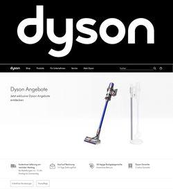 Prospekt Dyson - Black Friday 2020 vom 13.11.2020