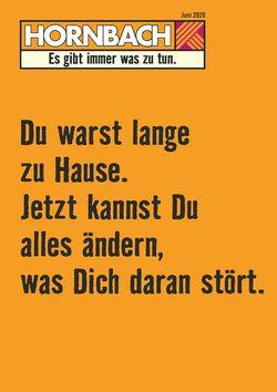 Prospekt Hornbach vom 01.05.2020