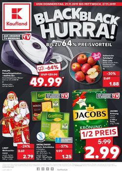 Prospekt Kaufland Black Friday 2019 vom 21.11.2019