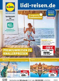 Aktueller Prospekt Lidl-Reisen