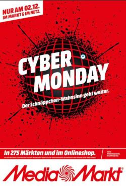 Prospekt Media Markt CYBER MONDAY 2019 vom 01.12.2019