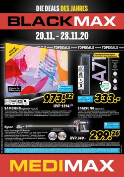 Prospekt Medimax Black Friday 2020 vom 20.11.2020